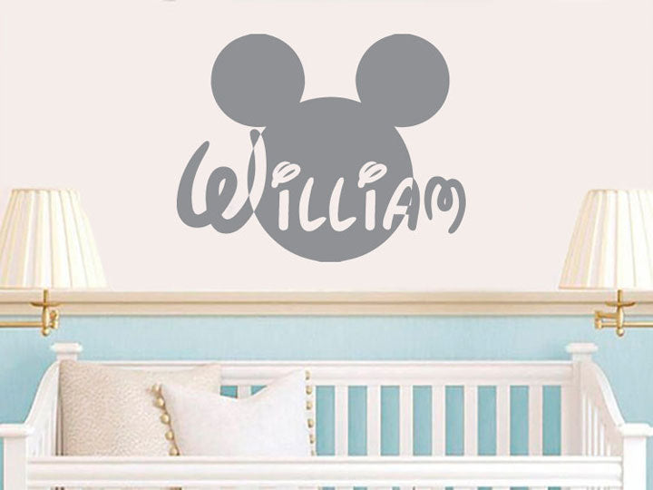 Personalized Disney Wall Decal