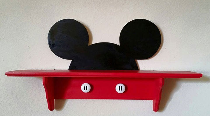 Mickey Mouse Shelf