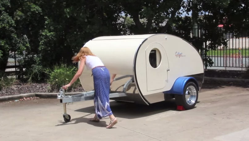 Gidget Retro Tear Drop Camper
