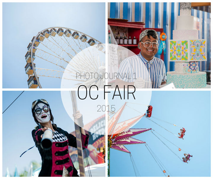 Orange County Fair 2015 Collage