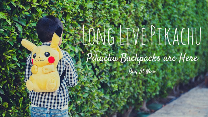 Long Live Pikachu Backpack