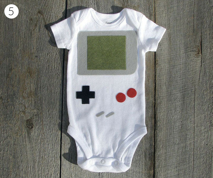 Gameboy Baby Onesie