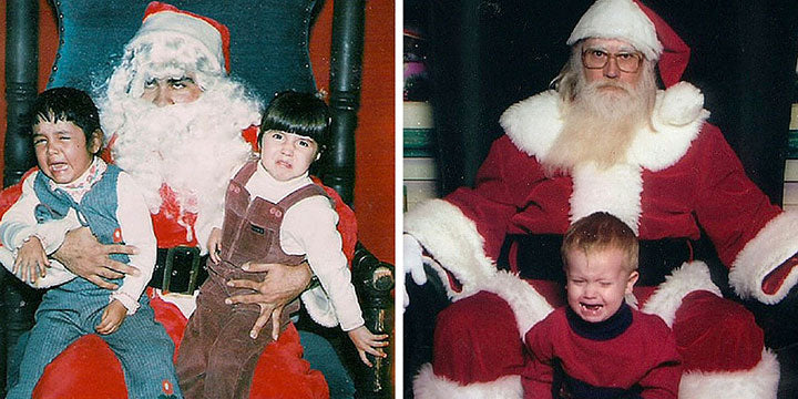 More Scared Kids of Santa