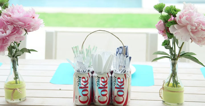 Coke Can Caddy