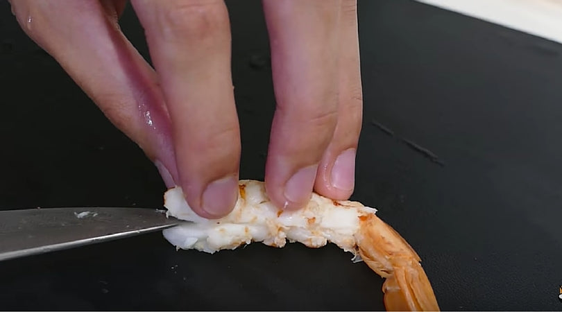 Slicing Shrimp