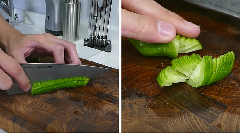 Cutting Cucumber