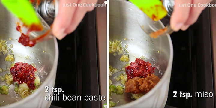 Chili Paste and Miso Paste
