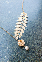 Carrie's Branch Necklace Detail