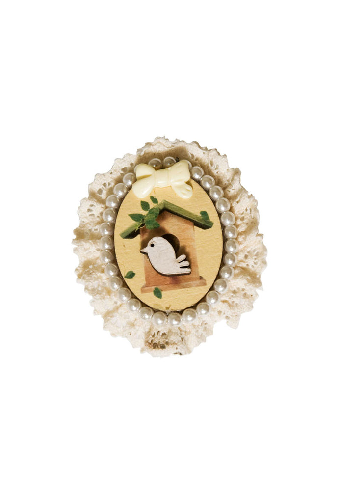 Tweety Bird Hair Clip White