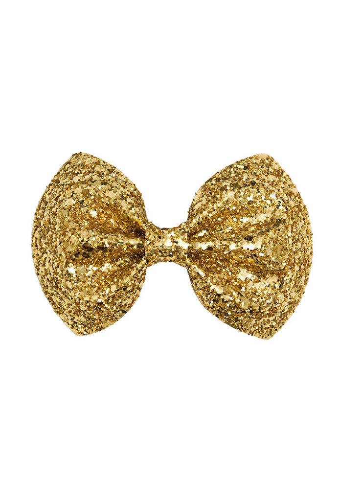 Golden Bow Hair Clip