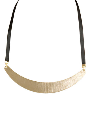 Going for the Gold Collar Necklace
