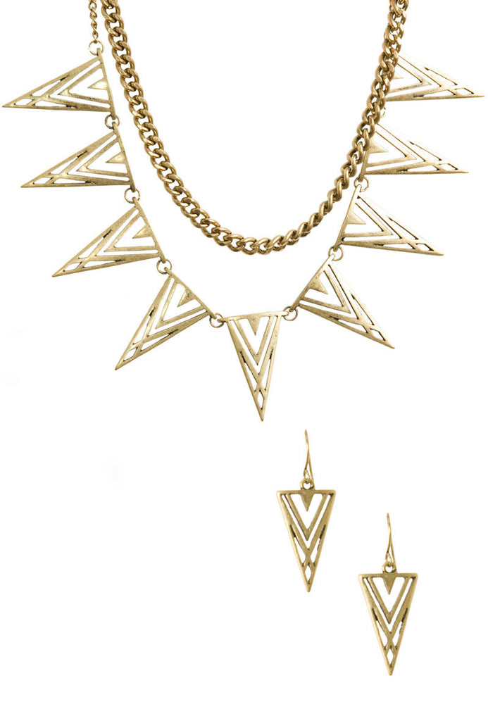 Vision Earring and Necklace Set