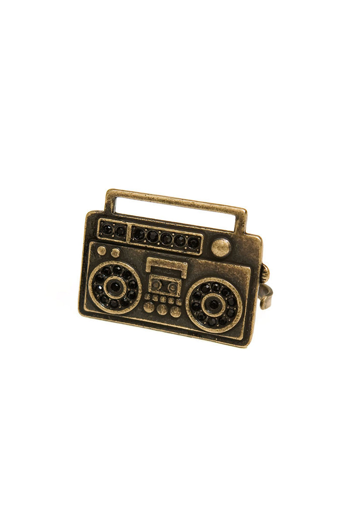 Boom Box Adjustable Two Finger Ring Main
