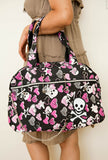 Skull and Bones Tote Black Full
