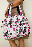 Skull and Bones Tote White Full