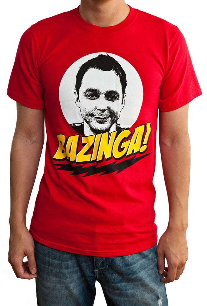 Big Bang Bazinga T-Shirt Main