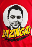 Big Bang Bazinga T-Shirt Closeup