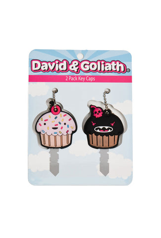 I Love Cupcakes and Cupcakes are Evil PVC Key Cover