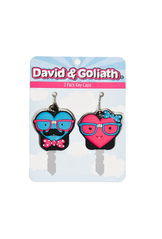 Mr Heart and Mrs Heartly PVC Key Cover