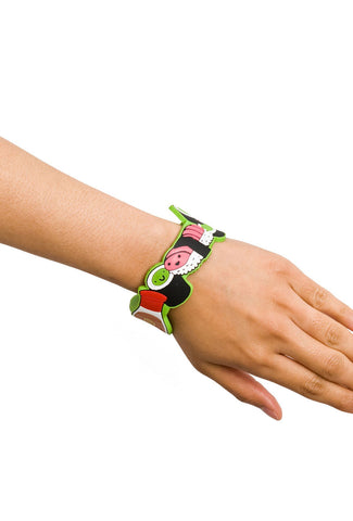 Sushi Roller PVC Bracelet with Flash Drive