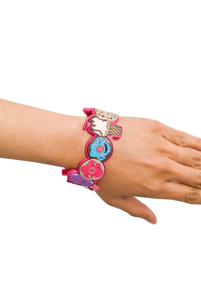 Sweet Treats PVC Bracelet with Flash Drive