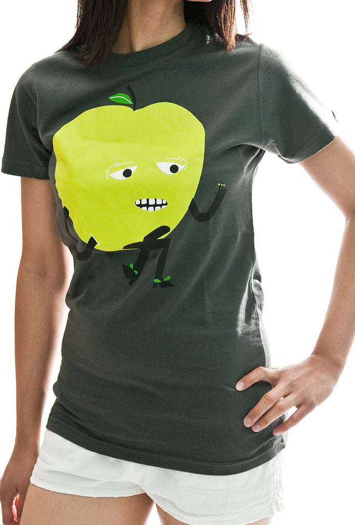 Casual Apple T-Shirt Oxide
