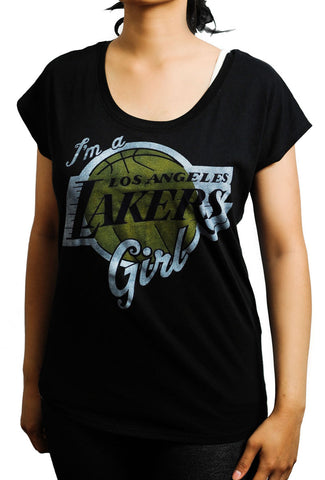 Lakers Girl For Life Tee