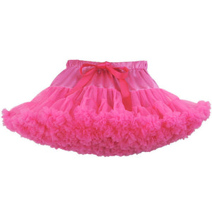 Premium Fluffy Pettiskirt - Hot Pink