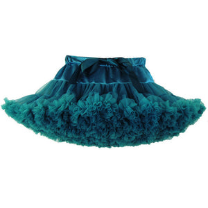 Premium Fluffy Pettiskirt - Teal
