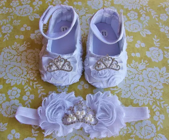 Princess Birthday Baby Shoe Set