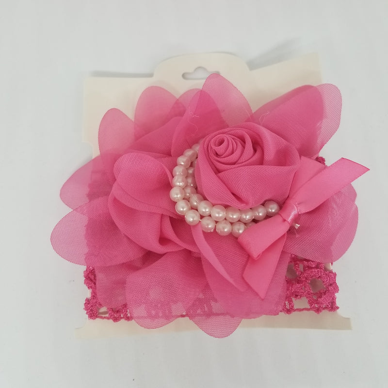 Flower Pearl Headband