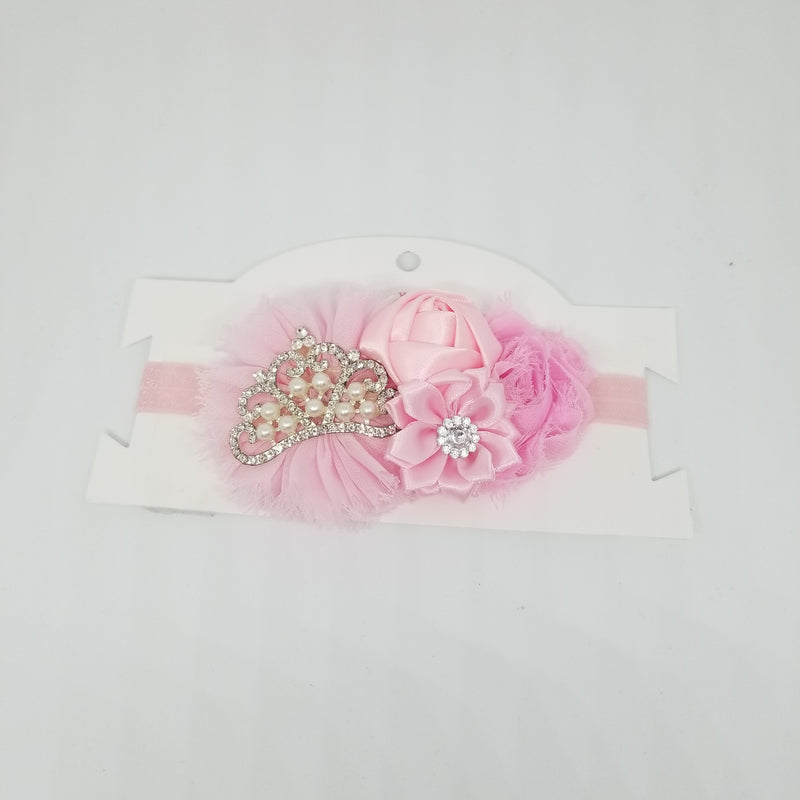 Princess Crown Flower Headband
