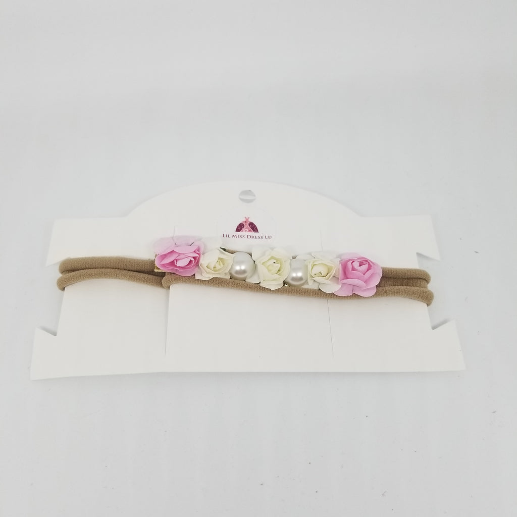 Flower Pearl Baby Headband