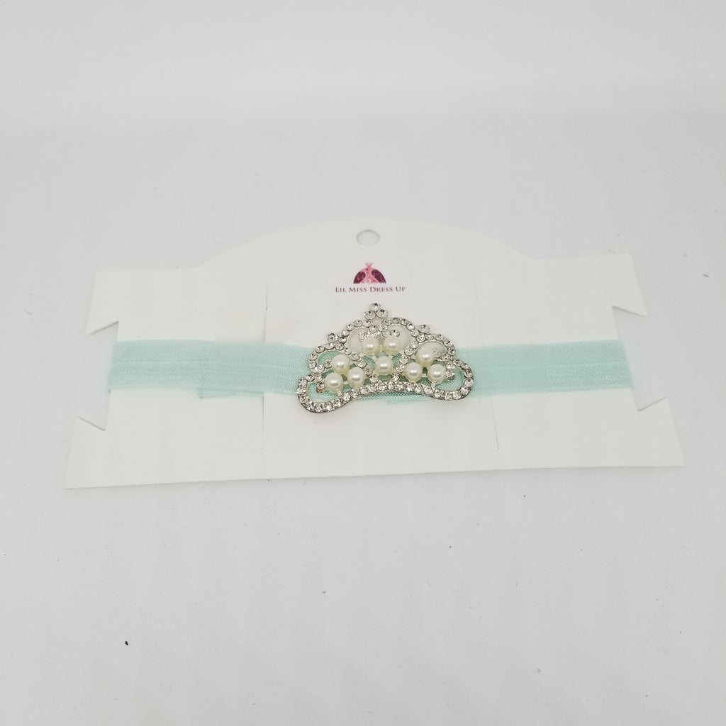 Jeweled Princess Crown Headband