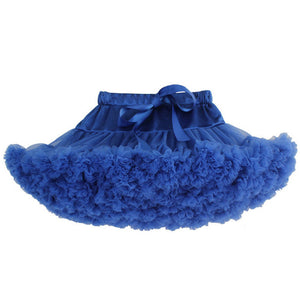 Premium Fluffy Pettiskirt - Royal Blue