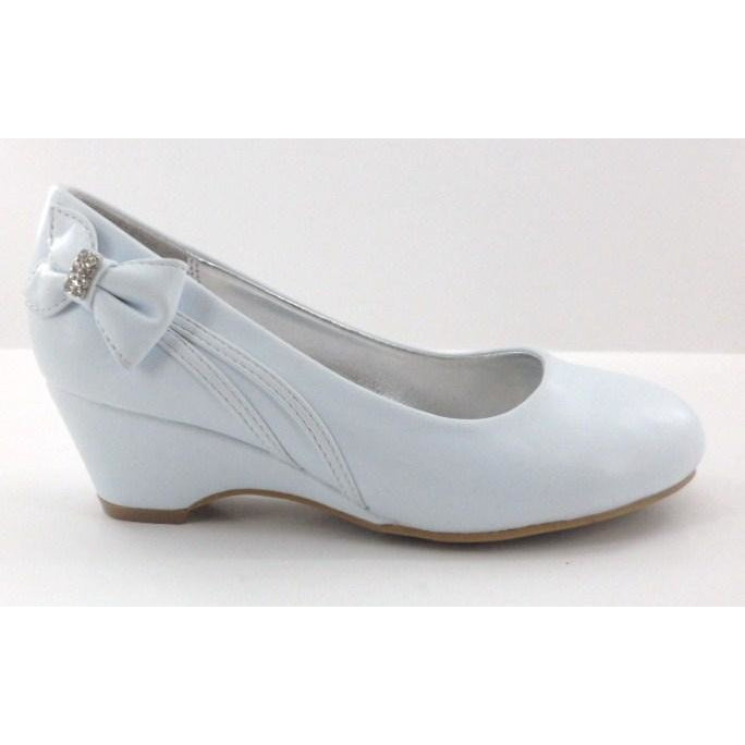 White Heel Shoe