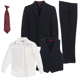 The James - Black 5 Piece Suit