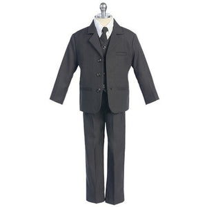 The James - Charcoal 5 Piece Suit