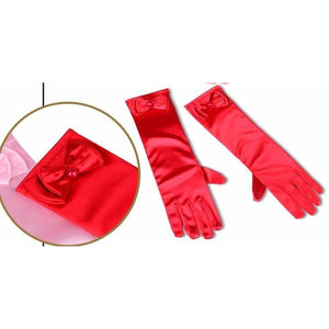 Girls Long Gloves