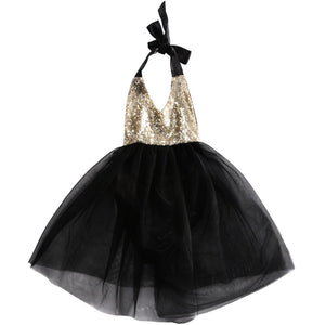 1st Birthday Diva Romper Set - Black