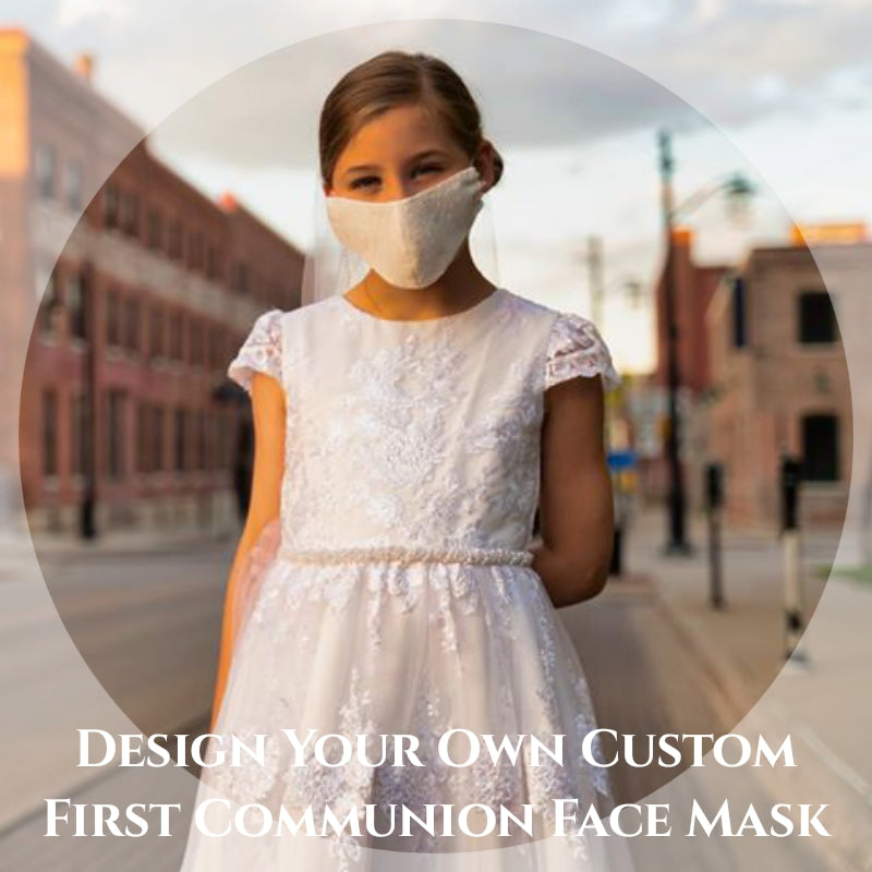 Design Your Own Face Masks - First Communion