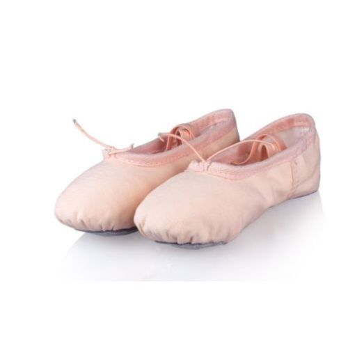 Beige Ballet Teen Shoes