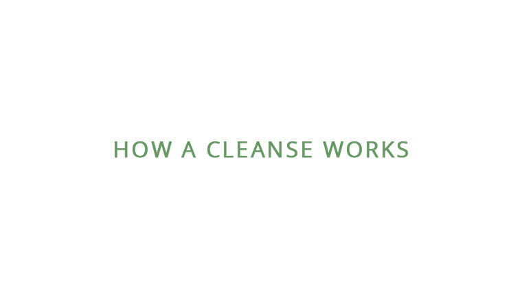 How a cleanse works