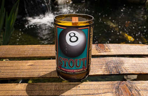 Lost Coast Brewery 8 Ball Stout Beer Bottle Scented Candle