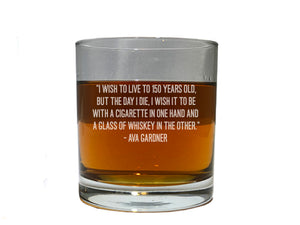 Ava Gardner quote about whiskey
