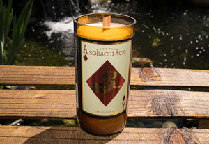 Brooklyn Brewery Sorachi Ace Saison Beer Bottle Candle