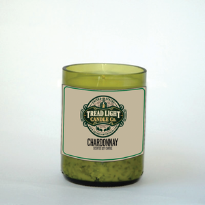 Wine Bottle Candle with all Natural Soy Wax - 9oz