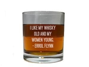 Errol Flynn quote about whiskey