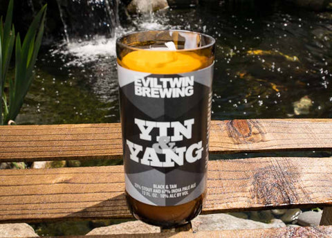 Evil Twin Brewing Yin & Yang Beer Bottle Scented Candle