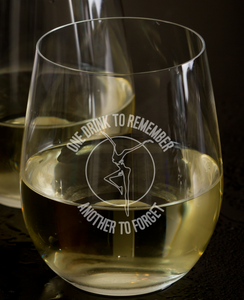 Dave Matthews Band inspired stemless wine glass with Grace is gone Lyrics - DMB, Husband Wife Gift, Anniversary, Fire Dancer, Dave Matthews Band Lyrics